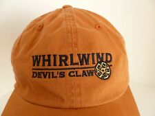 Whirlwind Devil's Claw Troon Golf Sedona Orange 100% Cotton One Size Hat Cap
