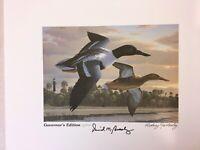 1995 South Carolina Gov Ed Duck Print,Stamp, Medallion, Rodney Huckaby 5/500