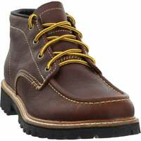 Georgia Boots Small Batch Moc Toe Chukka  Boots Casual   Boots Brown Mens - Size