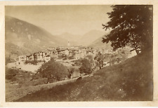 France, St. Martin  Vintage albumen print.  Tirage albuminé  20x30  Circa