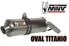 mivv-gaz d'échappement Kawasaki ZX-6 RR Année bj.03-04 ( ovale, Titan, élevé )