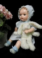 """Composition  Baby Doll - 20"""",  1930's - 40's - Totally Restored - Precious!"""