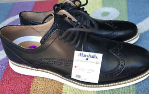 Cole Haan Men's OriginalGrand Wingtip Oxford Black Style C26469  Size-8 1/2.New