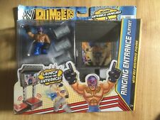 WWE Rumblers - Ringing Entrance Playset - With Rey Mysterio Figure