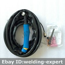 4M 12ft Tig Torch for LONGEVITY Tigweld 200sx - 200 Amp AC DC Tig/Stick Welder
