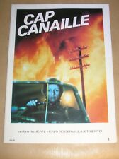 """RARE DOSSIER DE PRESSE DU FILM """"CAP CANAILLE"""" / JULIET BERTO / BON ETAT"""