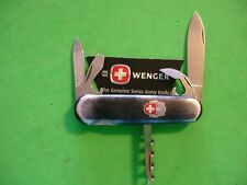 "NTSA VINTAGE SWISS ARMY WENGER MULTIFUNCTION PKT KNIFE ""DYNASTY SERIES IVANHOE"""