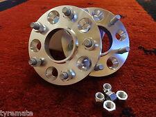 2 x SCC Spurverbreiterung CORVETTE C5 & C6 / Z06 20 mm (40 mm p. Achse) System 3