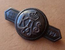 Spange 1899 1917 Gold gab ich für Eisen Chiffre A K S