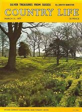 Country Life Magazine Sussex Treasures 31 March 1977 Birthday Gift Born 1977