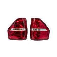 Performance Set Tail Lights fit 09-14 Ford F150 Styleside Pickup Red Trim Smoked