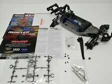 BRAND NEW Traxxas Rustler 4x4 VXL Brushless Edition Roller Chassis w/ Extras!!