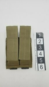Tactical Tailor double pistol mag pouch Khaki light coyote with Kydex Inserts