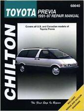 Chilton's TOYOTA Previa 1991-1997 Repair Service Shop Tune-Up Manual NEW