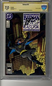 Batman (1940) # 417 - CBCS 7.0  WHITE  Pages SS Jim Starlin  - First app KGBeast
