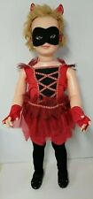 """35"""" Vintage Patti Play Pal Doll Type Dressed Like Devil Halloween Party"""
