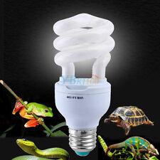 1x 13W Reptile Ultraviolet Lamp UVB 5.0 Calcium Supply Energy Save Light Bulb AF