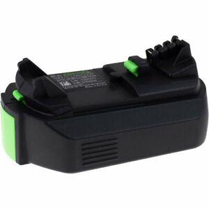 Battery for Festool cordless drill CXS (new version) 10,8V 2600mAh/28Wh Li-Ion