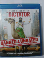 The Dictator: Banned And Unrated (Blu-ray No DVD, 2012, No digital copy)