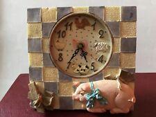 Vintage Regency Fine Arts Farmyard Kitchen Clock in Working Order - With Box