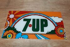 7up Peter Max 1969 Plastic Sign