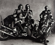 Hells Angels San Francisco 1967 Group Shot 8.5x11 Photo Amazing