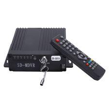 Dvr 4Ch Mini Realtime Car Mobile Dvr Auto Video Recorder Vehicle Camcorder