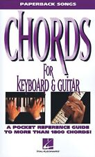 Chords for Keyboard and Guitar (Paperback Songs) by Hal Leonard Corp.