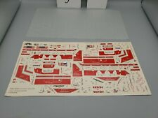 1/25 1993 Revell Peterbilt Can-Do Wrecker Decals #7541 With Original Wax Paper