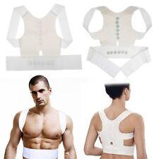 Power Orthopaedic Back Shoulder Posture Corrector Support Vest Unisex Adjustable