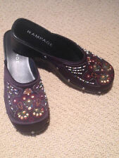 Womans' jeweled bedazzled clogs