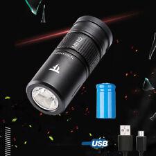 Portable Mini LED Scuba Diving Flashlight Torch Underwater 50M Waterproof Lamp