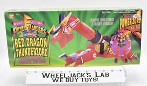 Red Dragon Thunderzord Complete W Box MMPR Power Rangers 1993 Bandai