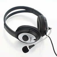 10X Durable USB Stereo Headset Headphone Microphone for PC Laptop Computer OV-Q2