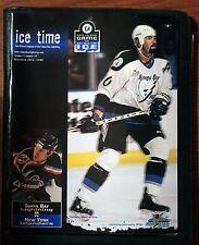 "December 29, 1998 Tampa Bay Lightning ""Ice Time"" Program vs NY Islanders ex"
