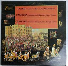 Salieri Cimarosa Corrette Concertos  LP TV 34307
