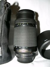 Nikon NIKKOR 70-300mm f/4.0-5.6 D AF ED Lens FX + HB-15 Lens Hood and 2 end caps