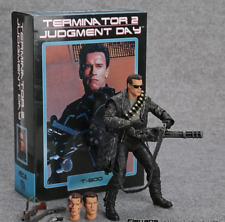FIGURA NECA TERMINATOR 2: Día del Juicio T-800 Arnold Schwarzenegger 18CM