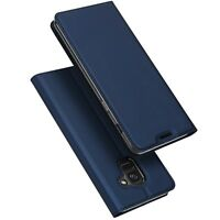 For Samsung Galaxy J6 Plus 2018 Phone Case Cover Premium PU Leather+Fixed Holder