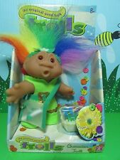 """MULTI COLORED MESSENGER - 5"""" DAM Troll Doll - NEW IN PACKAGE - Europe Edition"""