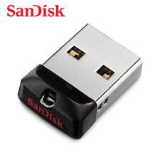 SanDisk Cruzer Fit CZ33 16GB Mini Nano USB Flash Pen Drive Memory Thumb Stick