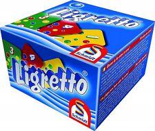 Ligretto bleu: rapide jeu de cartes par Schmidt-pour toute la famille Age 8 + 2-4 joueurs