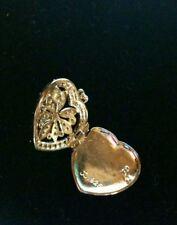 Judith Jack heart shaped locket pendant .925 SS