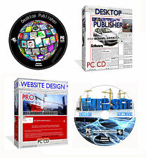 Desktop Publisher Web Builder Website Design Suite Web Page Creating PC CD