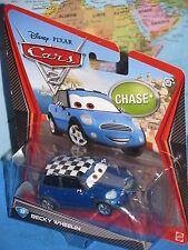 DISNEY PIXAR CARS 2 BECKY WHEELIN #33 CHASE MATTEL ***BRAND NEW & RARE***