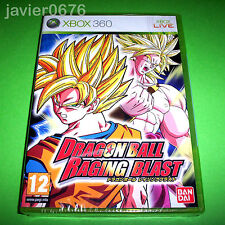 DRAGON BALL RAGING BLAST NUEVO Y PRECINTADO PAL ESPAÑA XBOX360