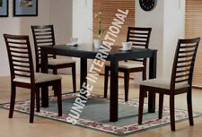 Modern Wooden Dining Table with 4 cushioned Chair set  !!