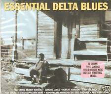 ESSENTIAL DELTA BLUES 2 CD BOXSET - MUDDY WATERS & MORE