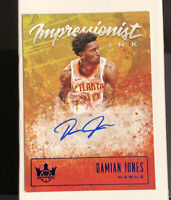 2019-20 Panini Court Kings RARE Impressionist Ink Autographs Damian Jones  /25