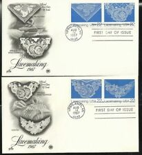 Art, Artists 22 Cent US First Day Covers (1981-1990)